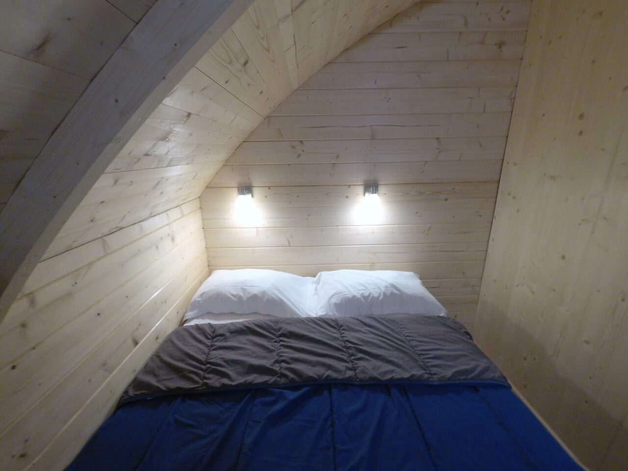 hutte chambre